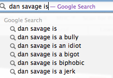 Dan Savage is